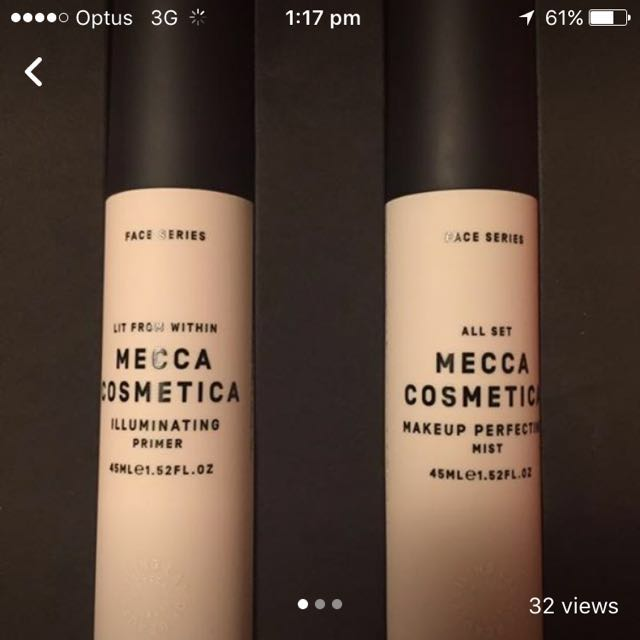 Mecca Primer And Make Up Setting Spray