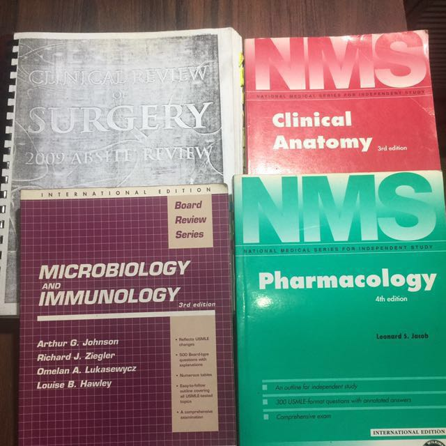 Medical Board Exam Reviewer, Textbooks on Carousell