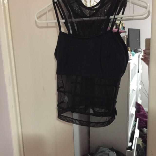 Mesh top Size 8