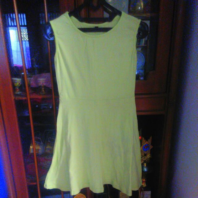 Mini Dress Soft Green #midnightsale