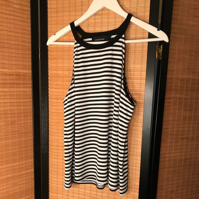 Mink Pink Striped Top