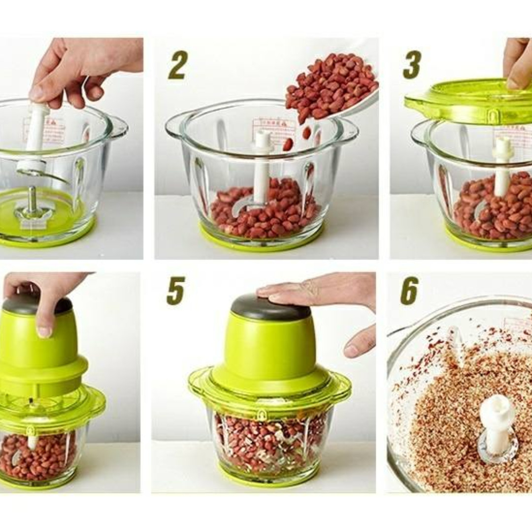 Multifunctional Meat Mincer