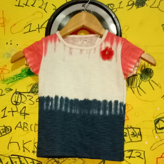 NEW ARRIVAL T-SHIRT ANAK BRAND : BABY GAP SIZE : 12-18m