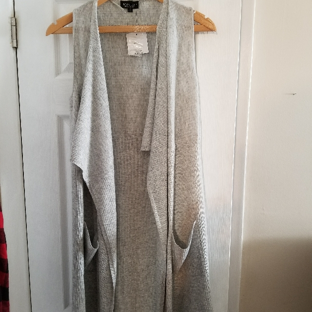 New Duster Sweater (Top Shop)