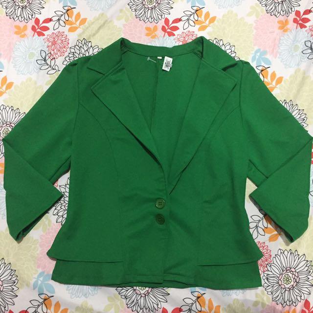 New Green Blazer
