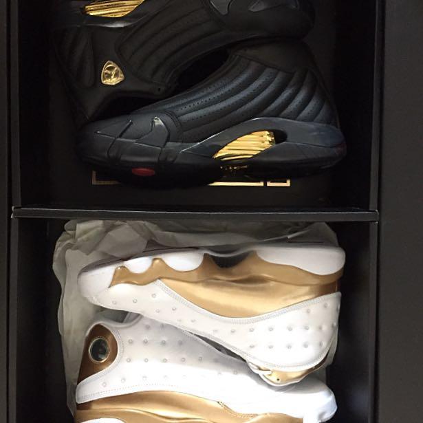 low priced a3127 a7715 Nike Air Jordan 13 14 DMP Finals Pack, Men s Fashion, Footwear on ...