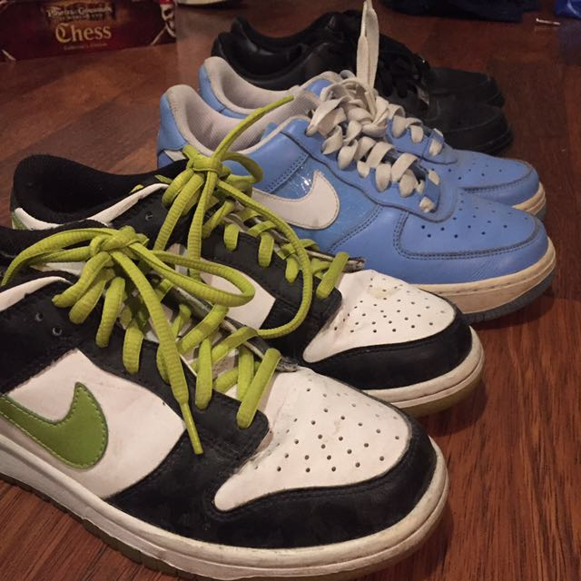 Nike Dunks Glow In The Dark