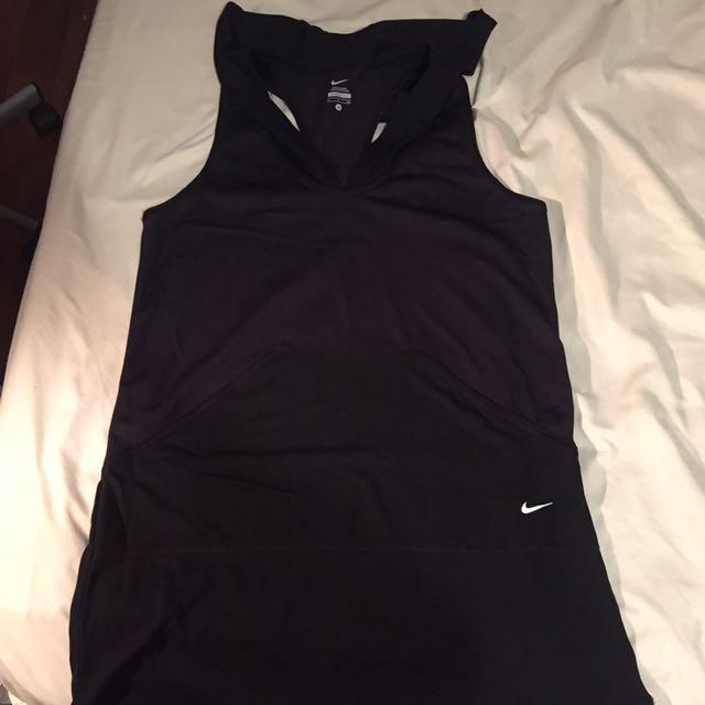 Nike Tank Top Dress Hoodie