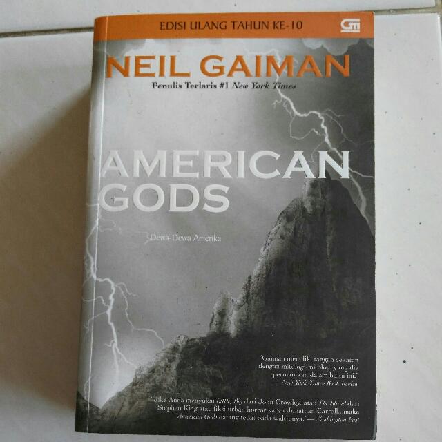 Novel : American Gods - Neil Gaiman