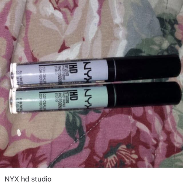 nyx hd colour correcting concealers