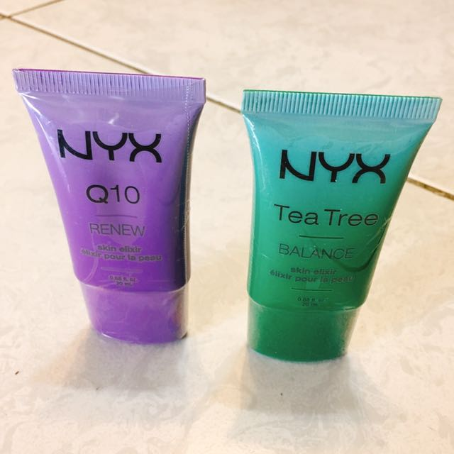 美國購回🇺🇸NYX Q10 Renew 和 Tea Tree Balance 20ml*2