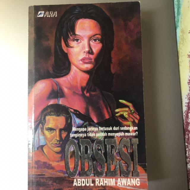 Obsesi By Abdul Rahim Awang Books Stationery On Carousell