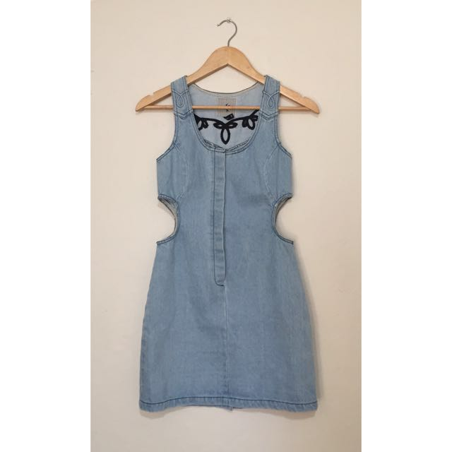 One Teaspoon - Denim Cut Out Dress