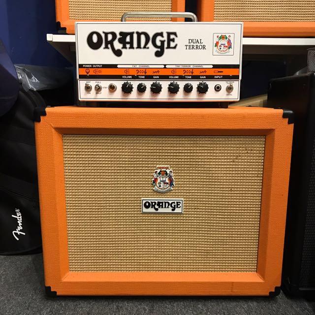 Orange Dual Terror Head and PPC112 Cabinet