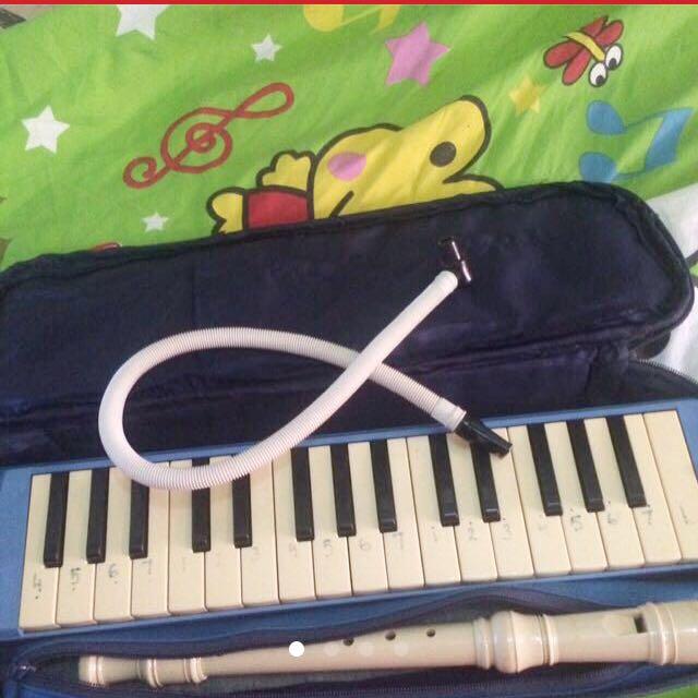 ORI! Pianika + seruling yamaha