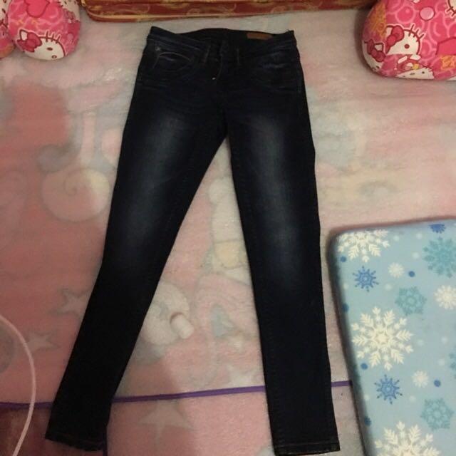 Original lee reversible skinny jeans