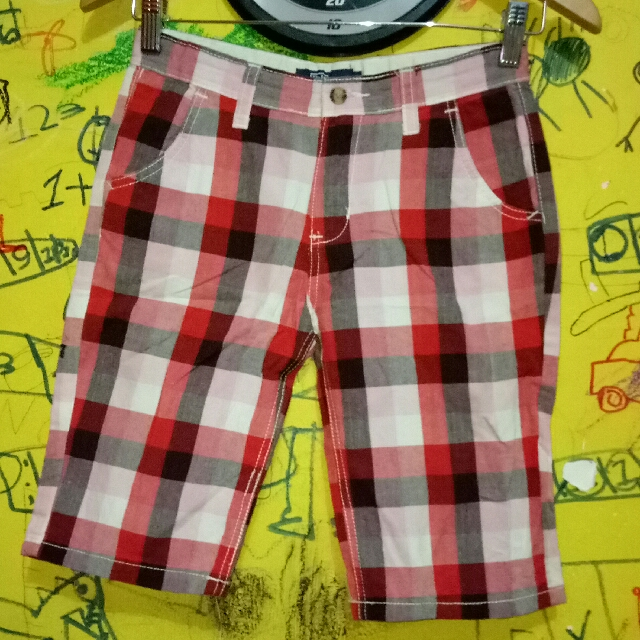 #prelovedkusayang OWN PRELOVED GOOD CONDITION CELANA PENDEK ANAK BRAND : POLO SIZE : 12T
