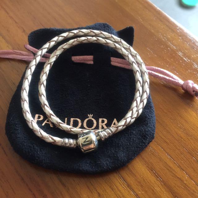 Pandora手鏈(米色)