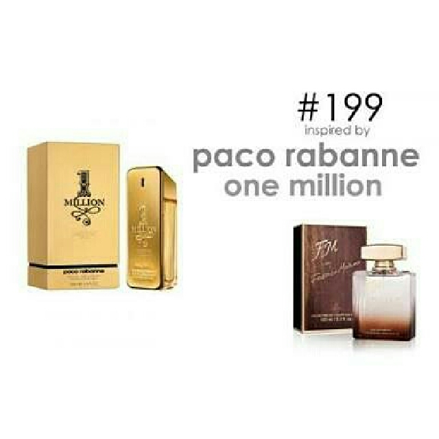 Parfum FM 199 Inspired By Paco Rabanne One Million