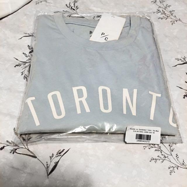 P/C Peace Collective T-Shirt Medium - Sky Blue Toronto-vs-Everyone