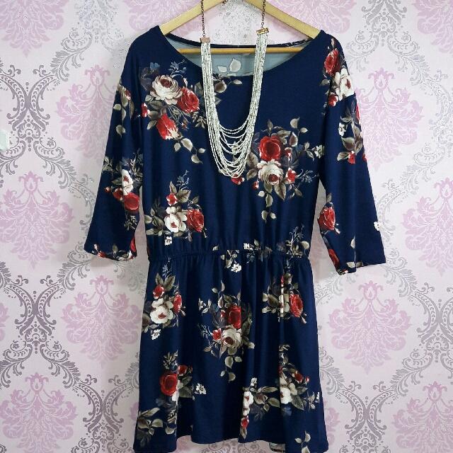 Plus Size 3/4 Dress