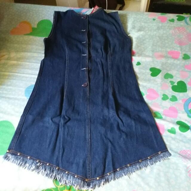 Preloved Maong Dress