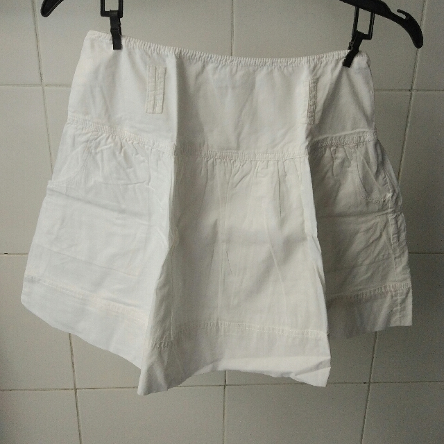 Promod White Skirt