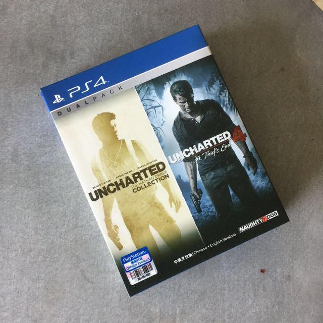 PS4 Games: Uncharted Bundle