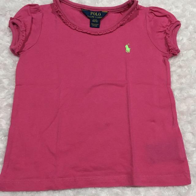 Ralph Lauren Shirt - Fuschia Pink
