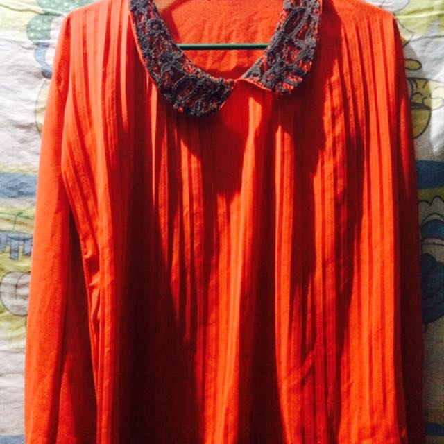 Red Citro long sleeve