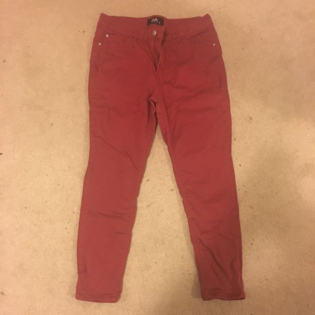 Red Jeans