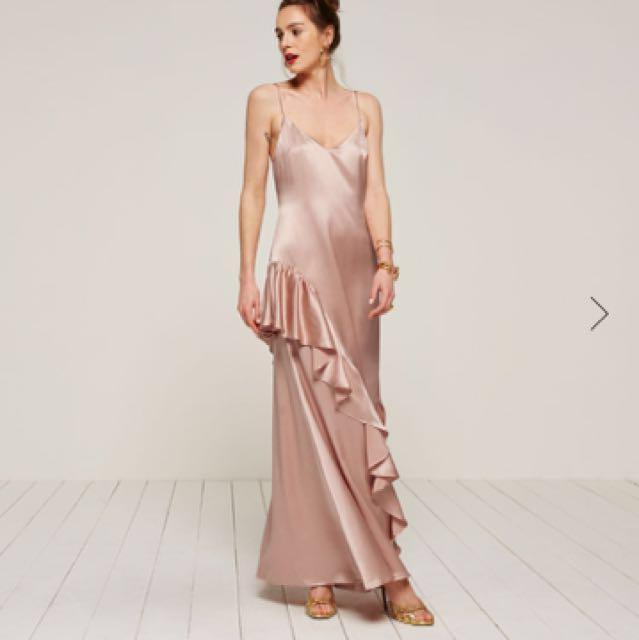 Reformation Angelica silk dress size 4
