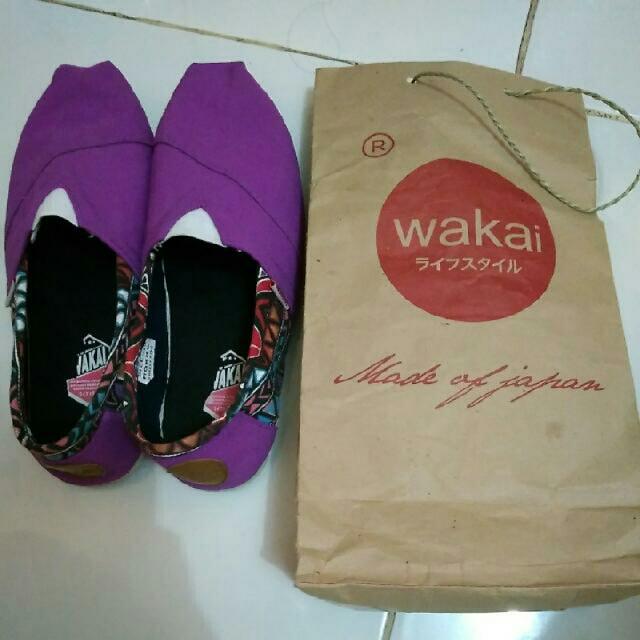 Reprice! Wakai Shoes Size 38