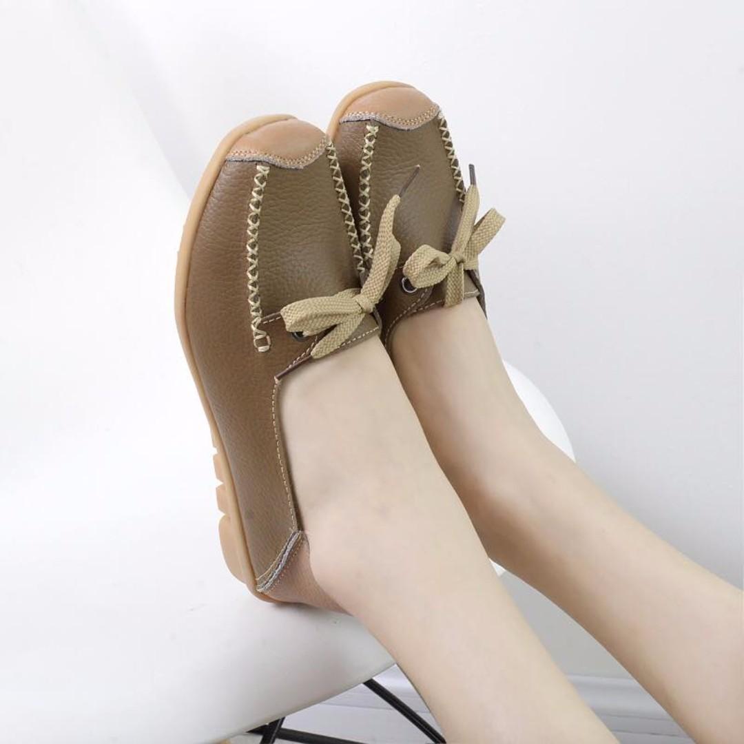 Sanuk leather
