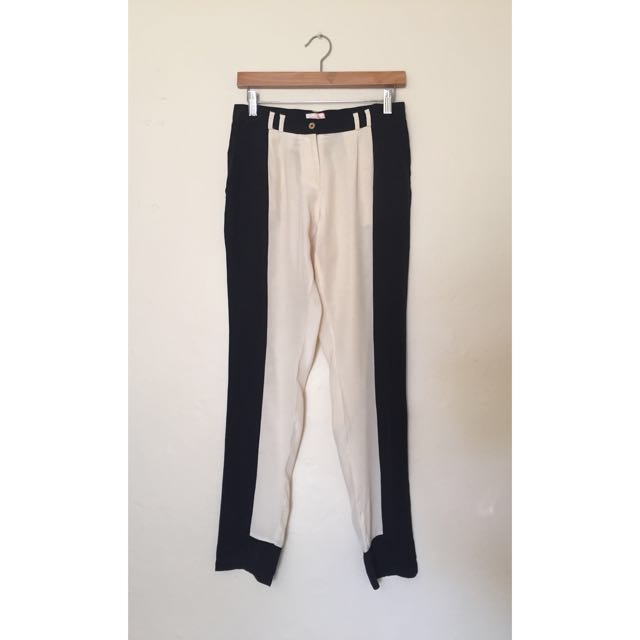 Sass & Bide - Black & White/Cream Pants