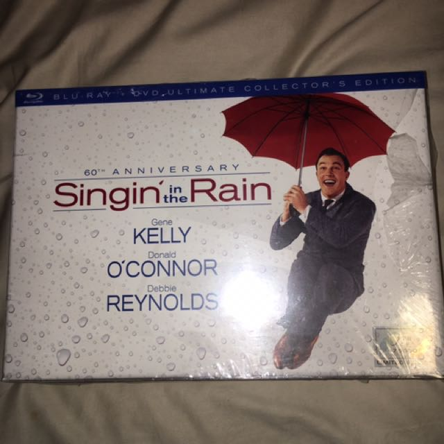 Singin' in the Rain 60th Anniversary Blu-Ray
