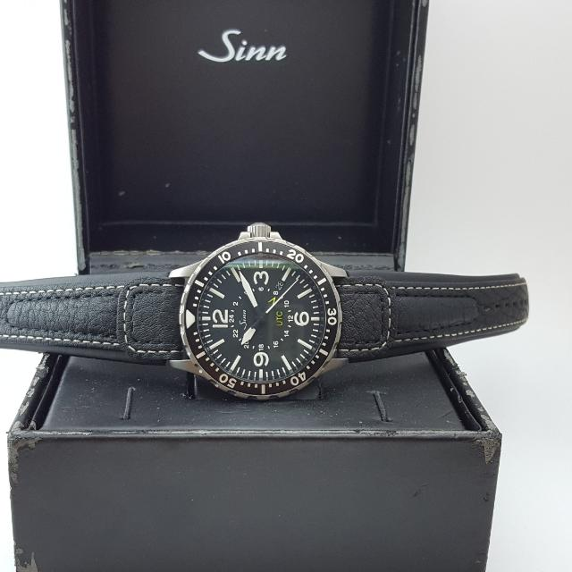 sinn 857 utc watch men s fashion watches on carousell