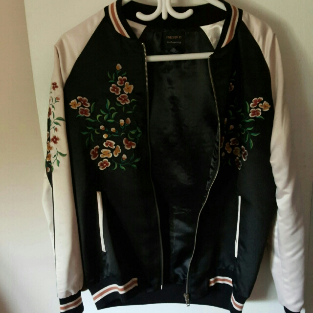 Size Small Forever 21 Bomber