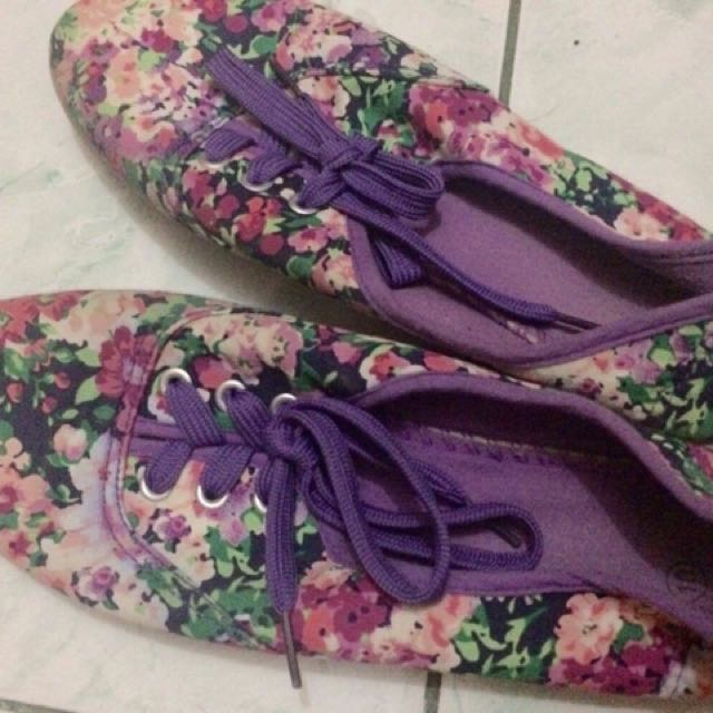 Solemate Floral Sneakers