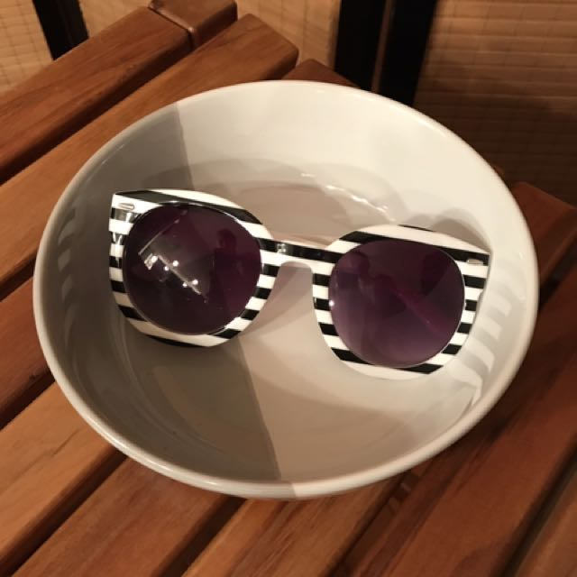 Stripey Glasses