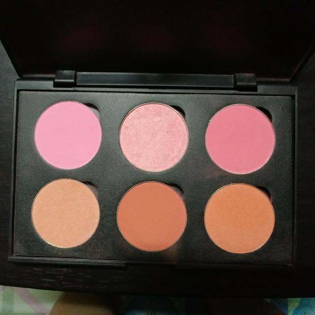 Suesh 6pc. Blush On Palette(Refillable)