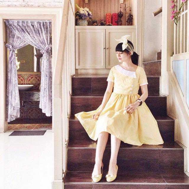 Summer Swing Summer Yellow Dress