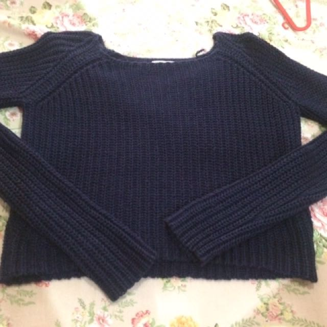 Sweater Crop Top Colorbox