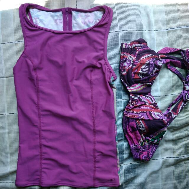 Swimsuit I Love Koi + Oneill Bundle