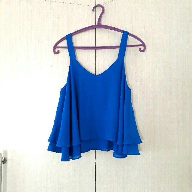 Tanktop Loose Electric Blue