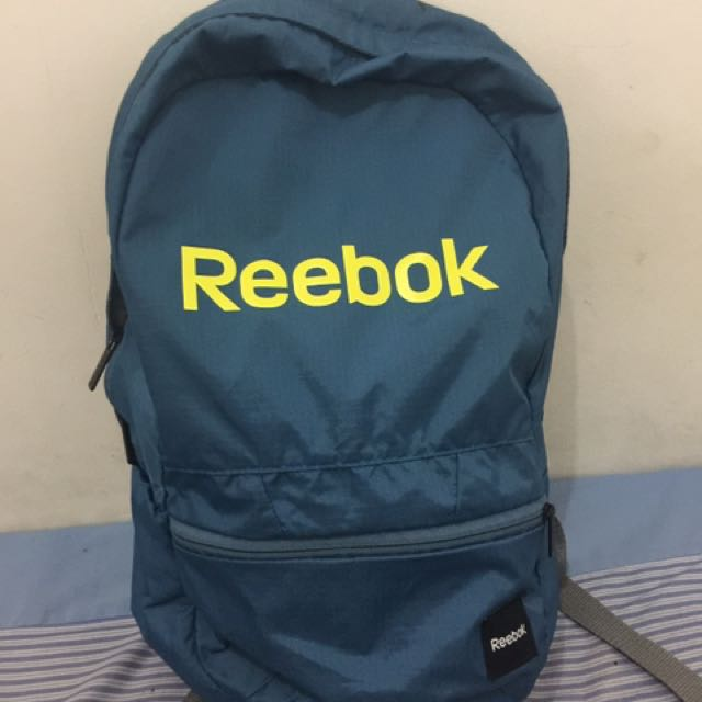 Tas Reebok Biru-Kuning Sport