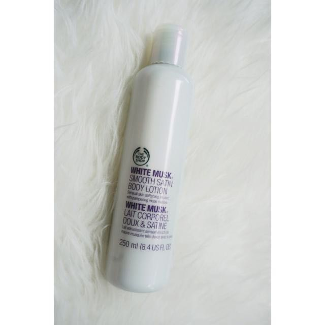 The Body Shop White Musk Lotion