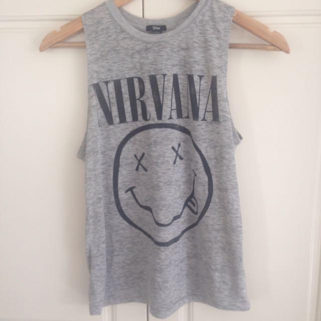 The T Bar Nirvana Vintage T-shirt