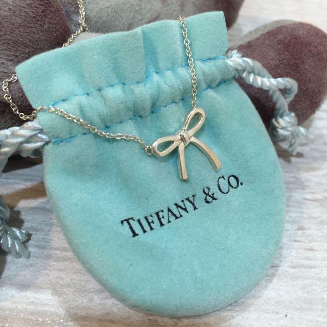 Tiffany&Co 蝴蝶結項鍊