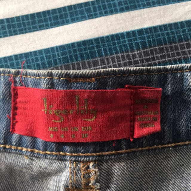 Tigerlily denim shorts